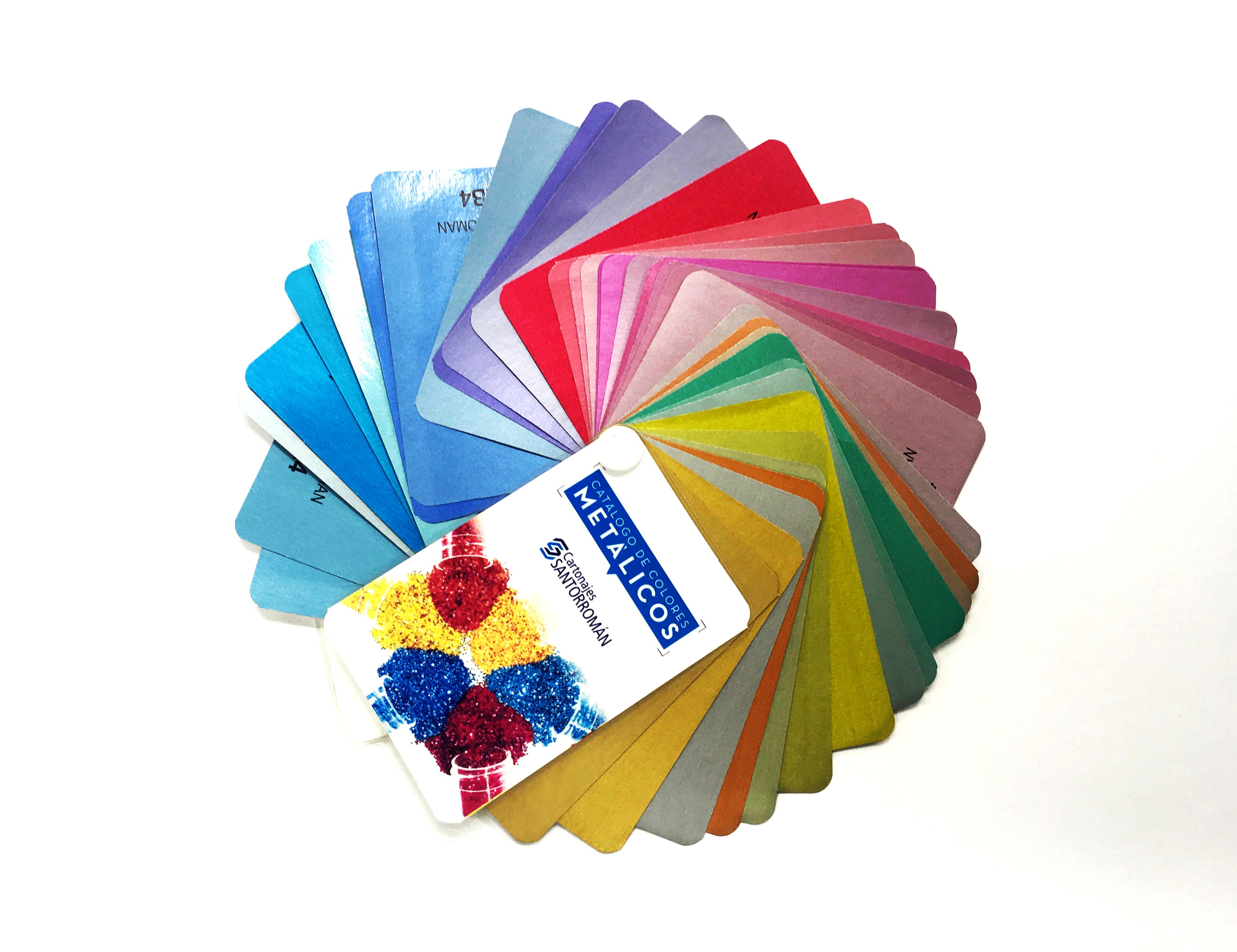 Nuevo catálogo y pantone de colores en Cartonajes Santorromán