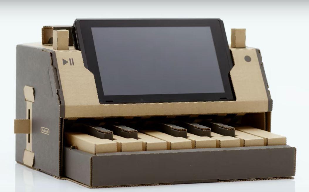 Nintendo lanza una consola de cartón que permite crear objetos con control remoto