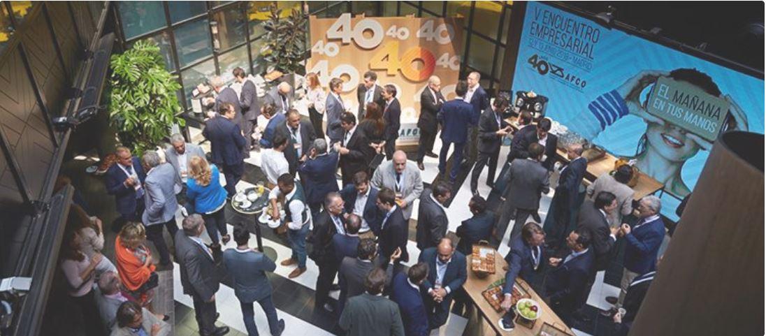 El V Encuentro Empresarial de AFCO reunió a más de un centenar de socios