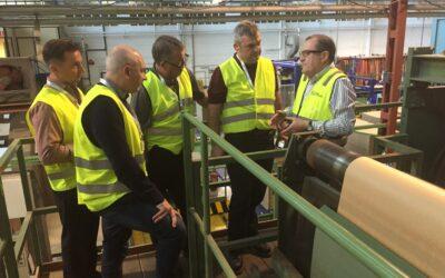 La ministra de Industria elogia la labora de la industria de papel y cartón durante la crisis del coronavirus